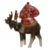 Little Santa Riding a Moose