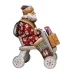 Santa Riding a Bysicle