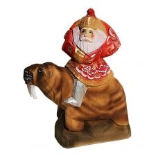 Santa on Walrus