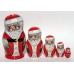 Santa Claus. Nesting Doll