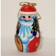 Santa Claus Wooden Christmas Tree Ornament