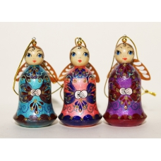 Angels. Set of 3 Christmas Ornament.