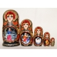 Russian Fairy-Tale. Beautiful Nesting Doll