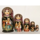 Fireb-Bird Russian Nesting Doll