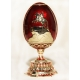 Faberge Style Egg with Monument to Peter the Great (The Bronze Horseman) for Antoinette
