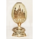 Faberge Style Egg with the Church of the Resurrection (the Saviour-on-the-Spilt-Blood)