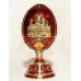 Faberge Style Egg with Cathedral of Christ the Savior