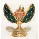 "Faberge Style Egg ""Net"" with Church of the Resurrection"