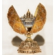 Faberge Style Egg with Double-Headed Eagle and St. Isaak's Cathedral