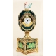 """Faberge Style  Egg """"Clock with Rooster"""""""
