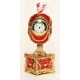 "Faberge Style  Egg ""Clock with Rooster"""