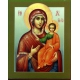 Theotokos of Tikhvin. Icon of the Mother of God