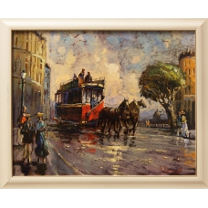 Saint-Petersburg. Horsecar