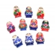 Set of 10 Matreshka Magnets