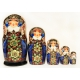 Nesting Doll in Traditional Costume