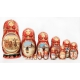 Matreshka Doll with Russian Troika