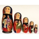 Dolls with Nativity Scene