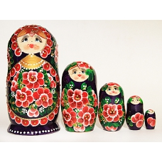Doll with Spring Flowers