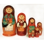 Copy of the First Matreshka Doll. 8 Pieces.