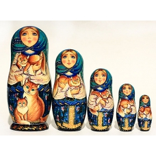 Matreshka with Cats